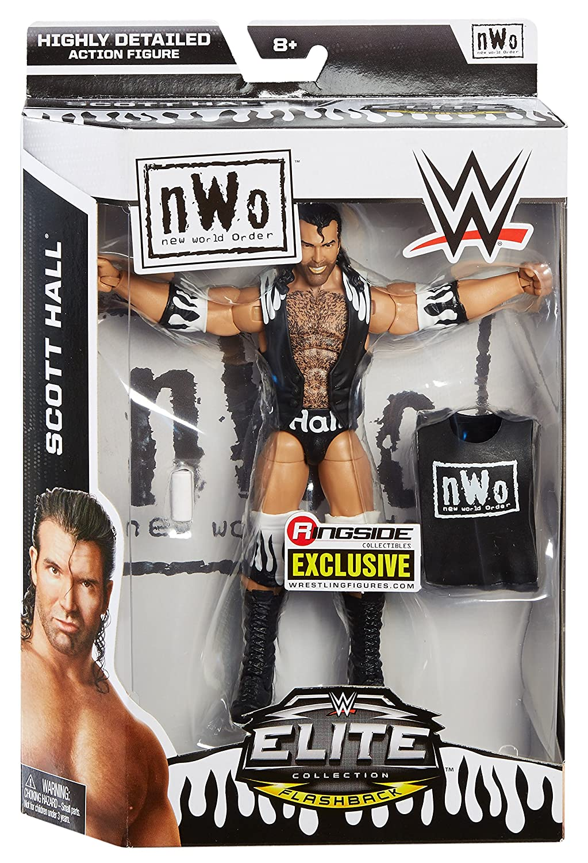 CHR75 WWE Elite Collection Scott Hall Figure Mattel Wire Transfer Import