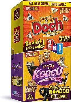 Kaadoo Koogu with Doch 2-in-1 Card Game Combo Pack