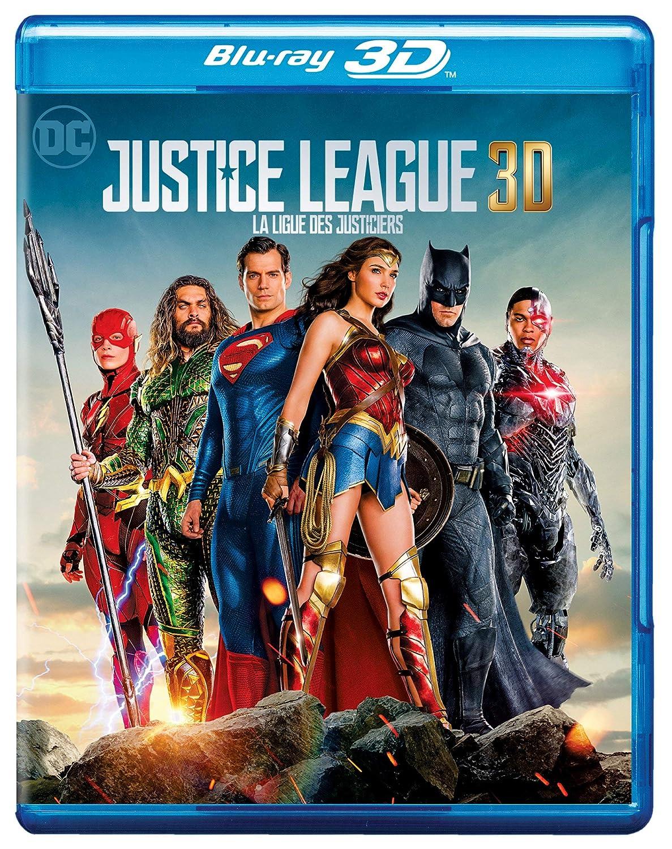Justice League (Blu-ray 3D) Ben Affleck Henry Cavill Amy Adams Gal Gadot