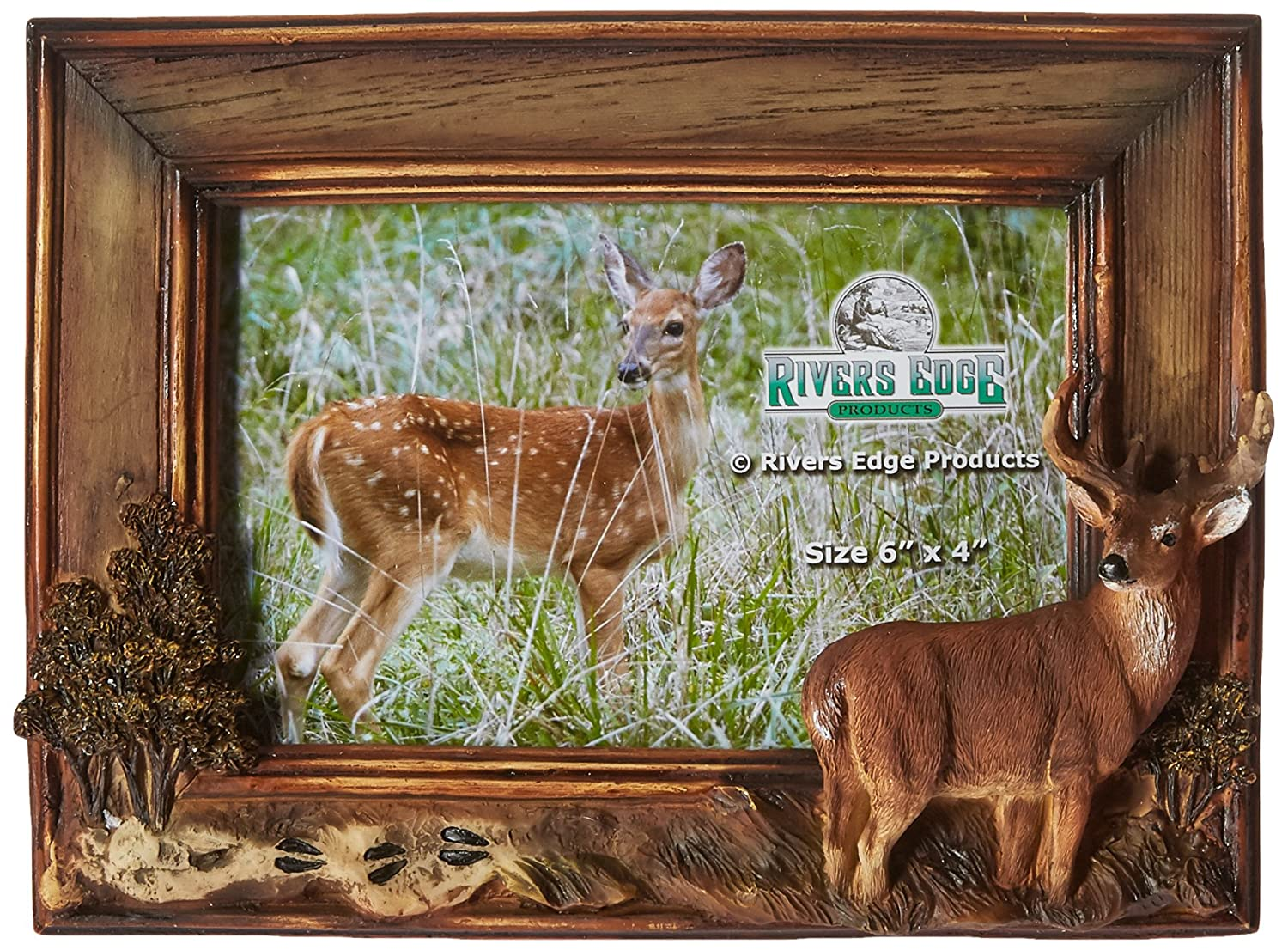 River\'s Edge Deer Frame 4 x 6 \