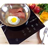 Evergreen Home 1800W Digital Induction Cooker Cooktop | Portable Countertop Burner-Easy To Clean