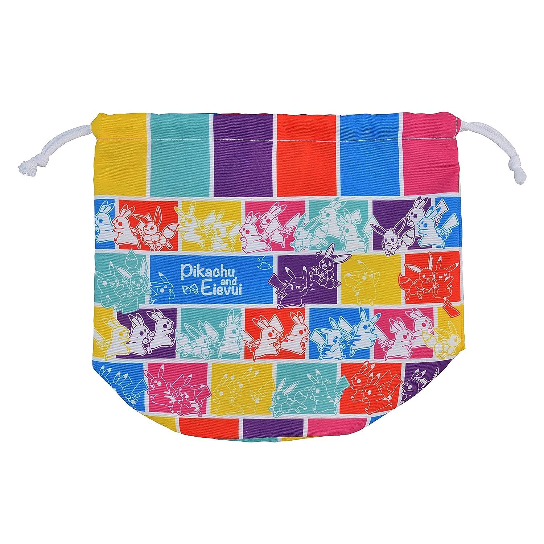 ポケモンセンターオリジナル 巾着付きPVCトートバッグ ピカチュウ&イーブイ