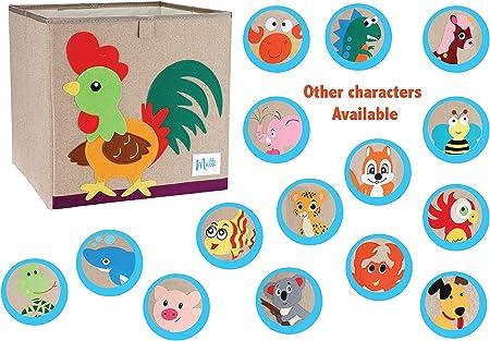 Mutti, Cajas Almacenaje Juguetes Decorativas - Arcón Infantil Nuevo Modelo 2020 con Algodón y Certificados Caja Infantil Cajon Juguete Bebés Niños Niñas Guardar Armario Toy Box: Amazon.es: Hogar