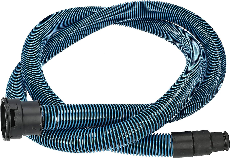✧WESSPER/® Tubo per aspirapolvere Rothenberger Dry Cleaner 1200 /ø32mm-38mm, 320cm, blu