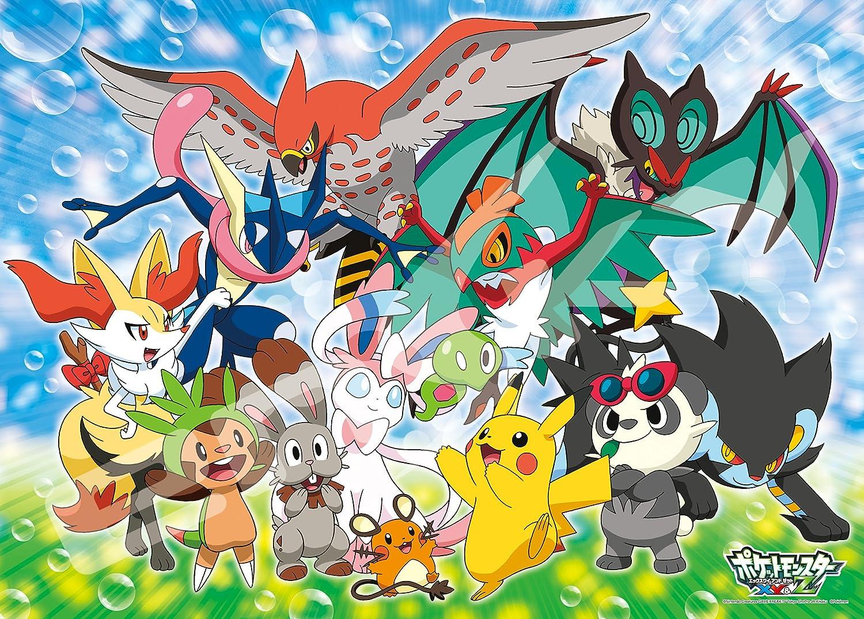 Uncategorized Pokemon Jigsaw Puzzle amazon com ensky pokemon xyz puni chan to issho large jigsaw puzzle 300 piece toys games