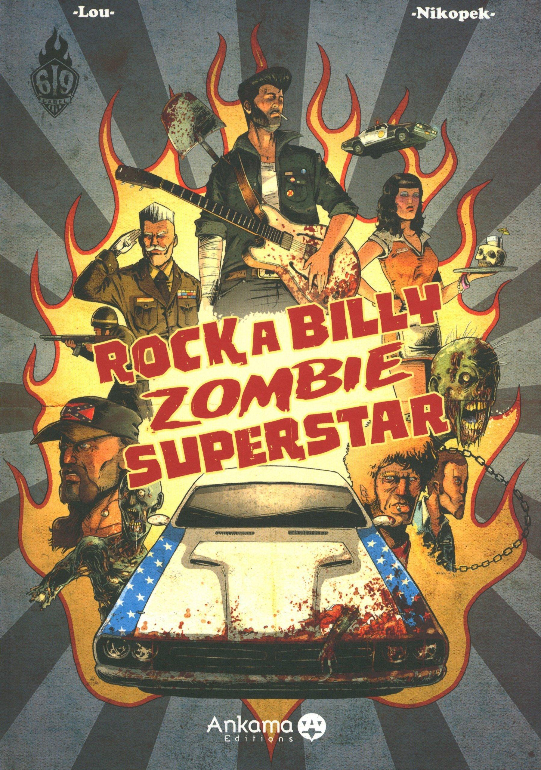 Rockabilly zombie superstar: 9782916739649: Amazon.com: Books