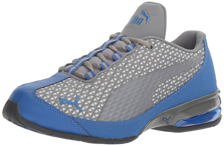 PUMA Men's Reverb Cross-Trainer Shoe B01LNMX06Y 7 M US|Quiet Shade/Puma White/True Blue