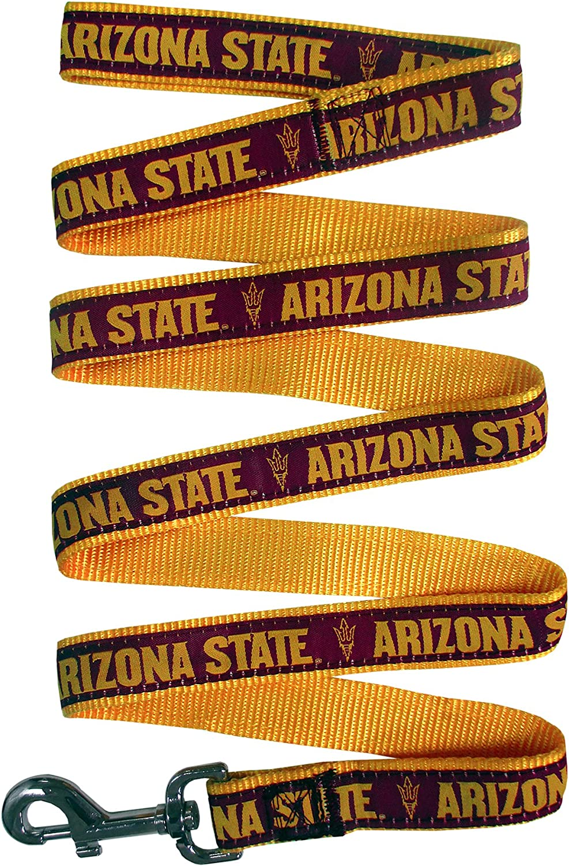 Arizona State Sun Devils Dog Leash Medium Pets First Collegiate Pet Accessories