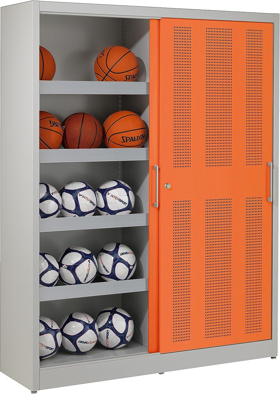 Sport-Thieme Pelota Armario, hxbxt: 195 x 150 x 50 cm, con Agujero ...