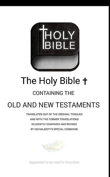 Holy bible app King james version offline - KJV Bible gateway apps study  for kindle fire free