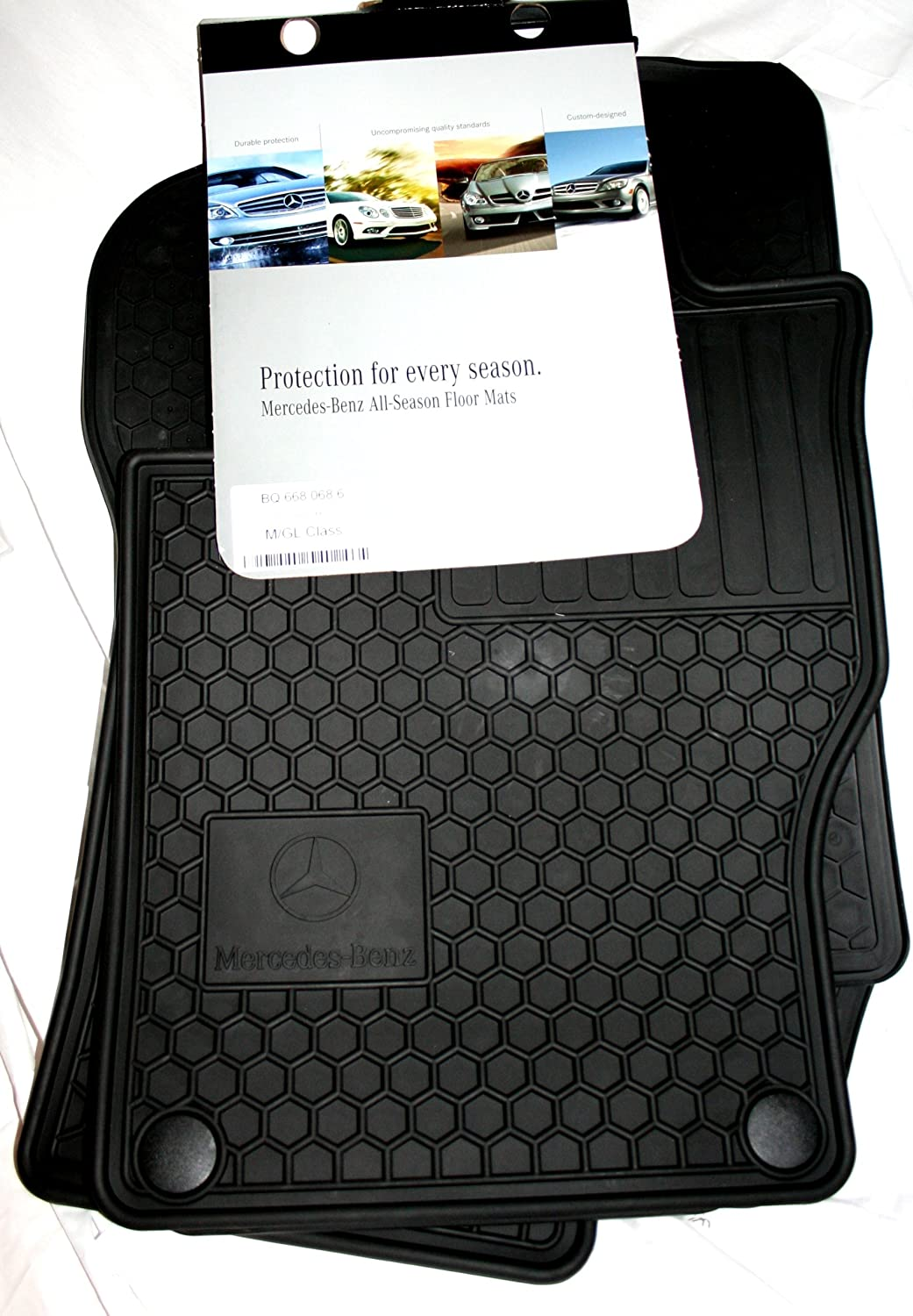 Genuine Mercedes Benz Q6680686 Rubber Floor Mats Ml350 2005 Parts Automotive