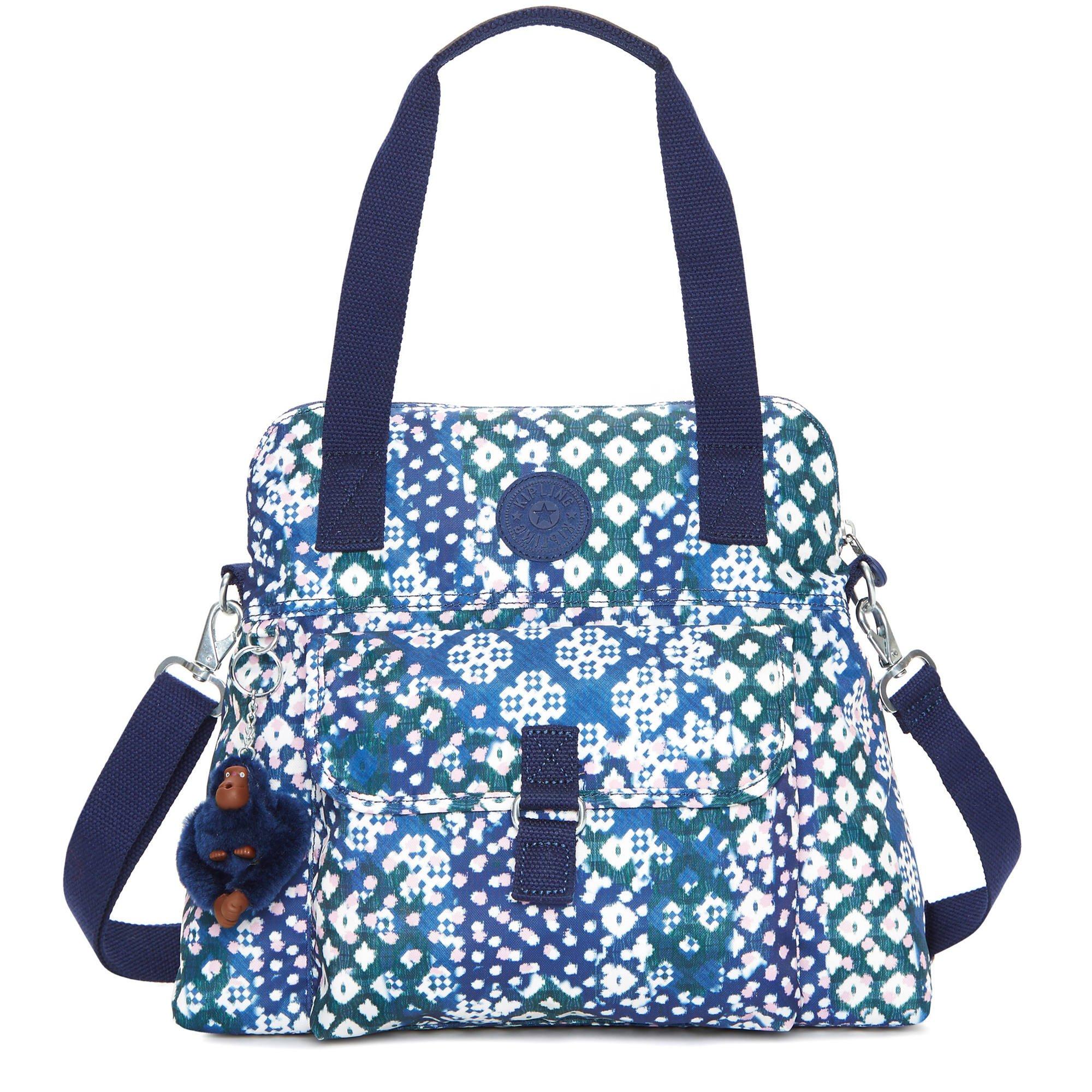 Kipling Women's Pahneiro Printed Handbag One Size Carnival Mix by Kipling