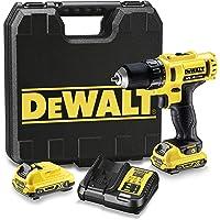 DeWalt DCD710D2-QW, sladdlös borrskruvdragare 10,8 V/2,0 Ah