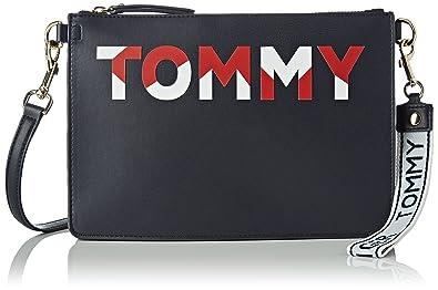 Tommy Hilfiger Iconic Crossover Cb, Sacs bandoulière femme, (Corporate Mix), 3.5x14x24.5 cm (B x H T)