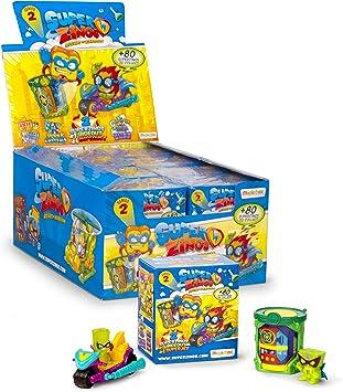 SuperZings - Serie 2 - Caja con colección completa - Incluye 4 ...