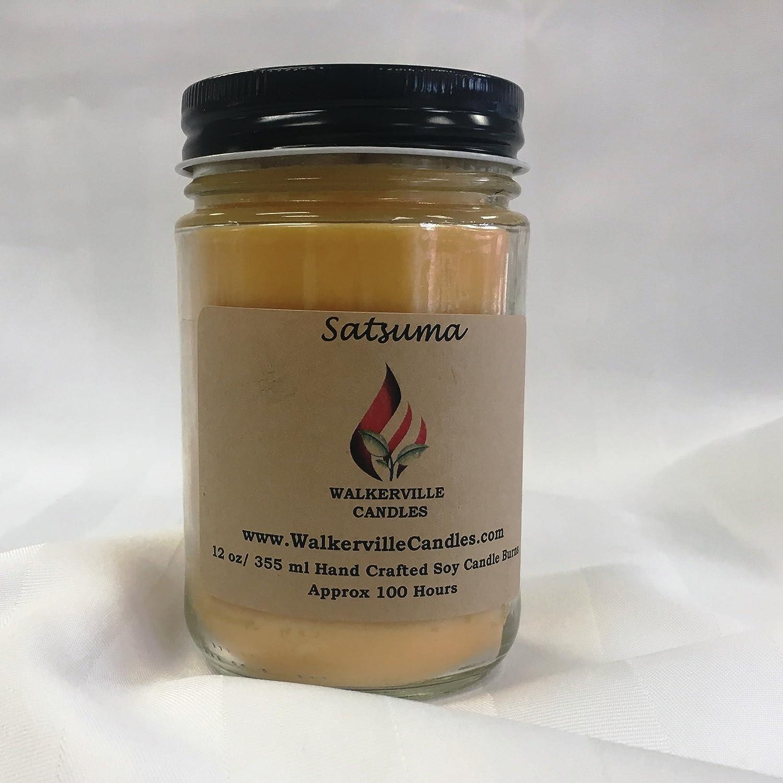 Satsuma 12 oz soy candle