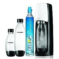 SodaStream spiritbn gazeifier Machine, Plastic, white, 18.6x 13x 17cm