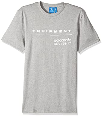 designer fashion 193a8 03887 adidas Originals Men s PDX Classic Tee, Medium Grey Heather White, ...
