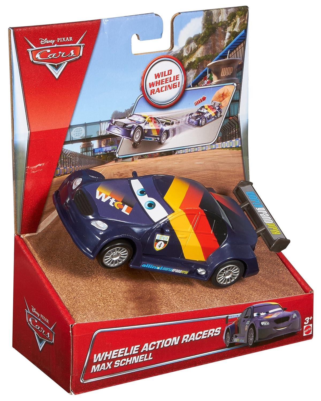 Coches y coches de carreras Cars Disney Wheelies MAX Schnell