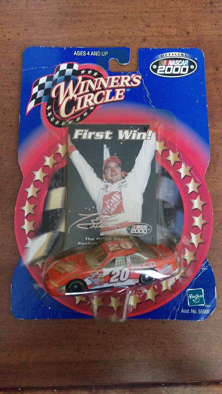 2000 Winner's Circle #20 Tony Stewart first win 1:64 scale diecast home depot car