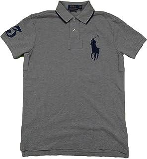 Polo Ralph Lauren Mens Custom Fit Mesh Big Pony Polo Shirt