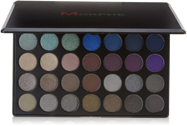 Morphe Dark Smoky Palette - 35D - NEW! Morphe Brushes