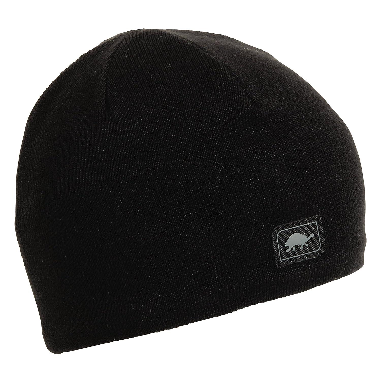 bc4b8e5a872424 Amazon.com: Turtle Fur Mens Merino Wool Nordic Style Beanie, Black/Solid  Knits: Clothing