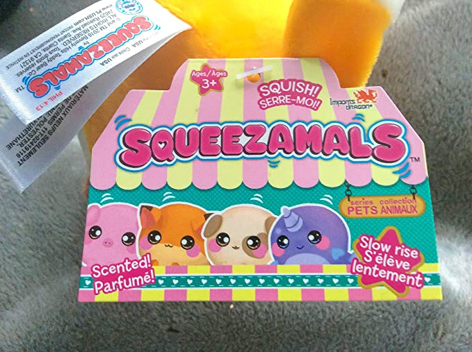 Squeezamals ~ Dakota le Chick ~ NEUF!