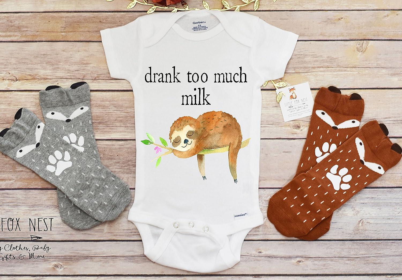 Amazon.com: Sloth Onesie®, Breastfeeding Shirt, Baby Boy Clothes