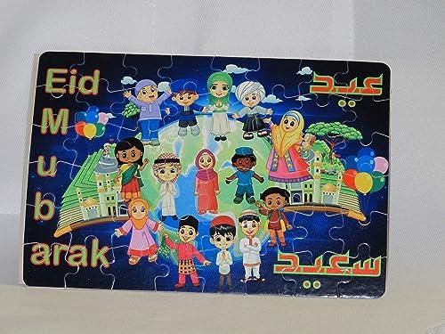 Eid al adha gift Muslim Kids gift Eid gifts kids Ramadan puzzle Eid kids gift Ramadan children games Islamic teachings Ramadan toys Islamic Puzzles Eid puzzle Islamic gifts Islamic toys