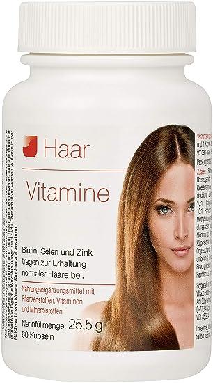 Vihado Haar Vitamine Intensiv Vitalformel Biotin Selen Zink
