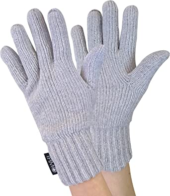 Mens Knitted Winter Warm Thermal 40g 3M Thinsulate Insulation Gloves THMO