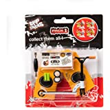 Grip & Tricks - Finger SCOOTER - Mini Trottinette - Pack1 - Dimensions: 14 X 13,5 X 2 cm