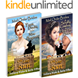 Mail Order Bride: 2 Book Special Offer - Trust, Doubt, and a New Beginning - A Scruffy Cowboy to Heal Her Heart: Clean and Wholesome Western Historical Romance (Mail Order Brides On The Run 1)