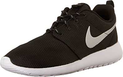 Nike Roshe Run, Sneakers Basses Adulte Mixte, Noir (Black