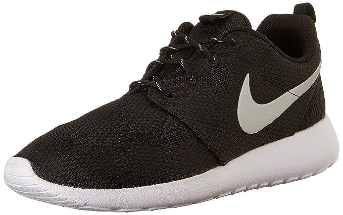 b1be51964238e Amazon.com: Nike Womens Roshe One Running Shoe Black/Metallic  Platinum/White (8.5): NIKE: Clothing