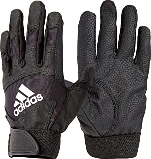 adidas–Maglietta t-Ball Batting Gloves 2018(Nero, SM)