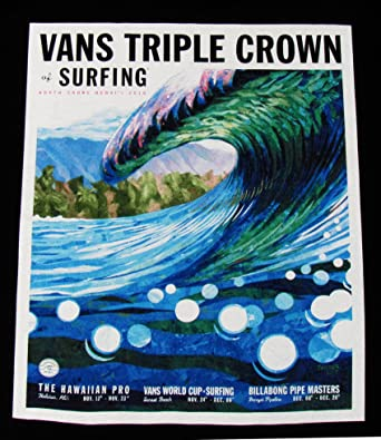 5ecd237daa Amazon.com  Official Men s Vans Triple Crown of Surfing Contest ...