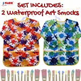 Kids Art Smock Painting Apron - (Pack of 2) Long