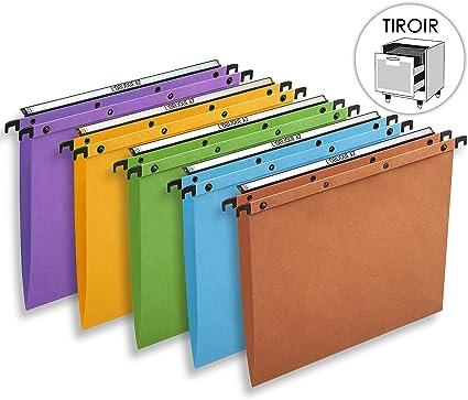 LOblique A-Z AZO - Carpetas colgantes para archivador (caja de 25 ...