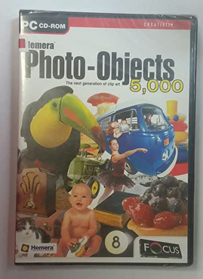 Amazon hemera photo objects 5 000 the next generation of hemera photo objects 5000 the next generation of clip art pc cd reheart Images