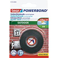 tesa Powerbond Foam Double Sided Mounting Tape for Outdoors Use 1.5 m x 19 mm