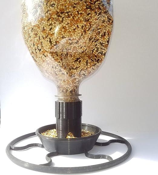 Soda comedero botella con embudo hecho con plástico Biodegradable ...