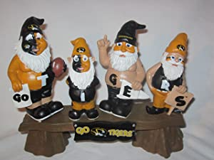 Forever Collectibles NCAA Missouri Tigers Garden Gnome, Team Colors, One Size