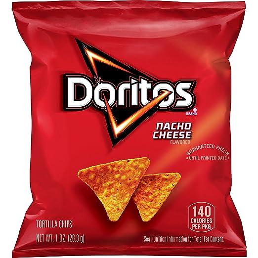 Amazoncom Doritos Nacho Cheese Flavored Tortilla Chips 1 Ounce