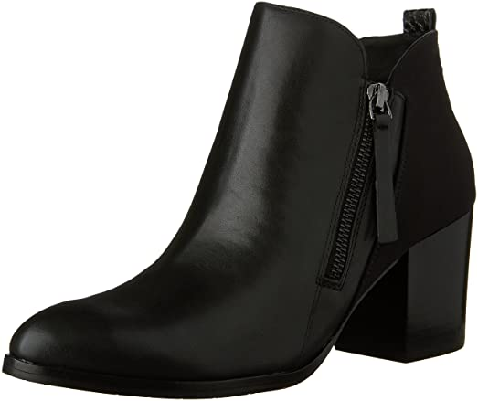 Womens Edyn-08D Pointed Toe Ankle Chelsea Boots