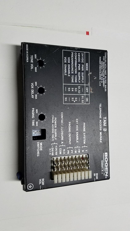 Amazon.com : Bogen Telephone Access Module (Model TAMB) : Other ...