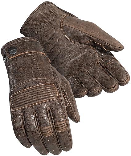 0df52dd1136d8 Amazon.com: Cortech Men's Duster Leather Motorcycle Gloves (Brown, Medium):  Automotive