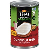 6-Pack Thai Kitchen 13.66 oz Organic Coconut Milk (Unsweetened)