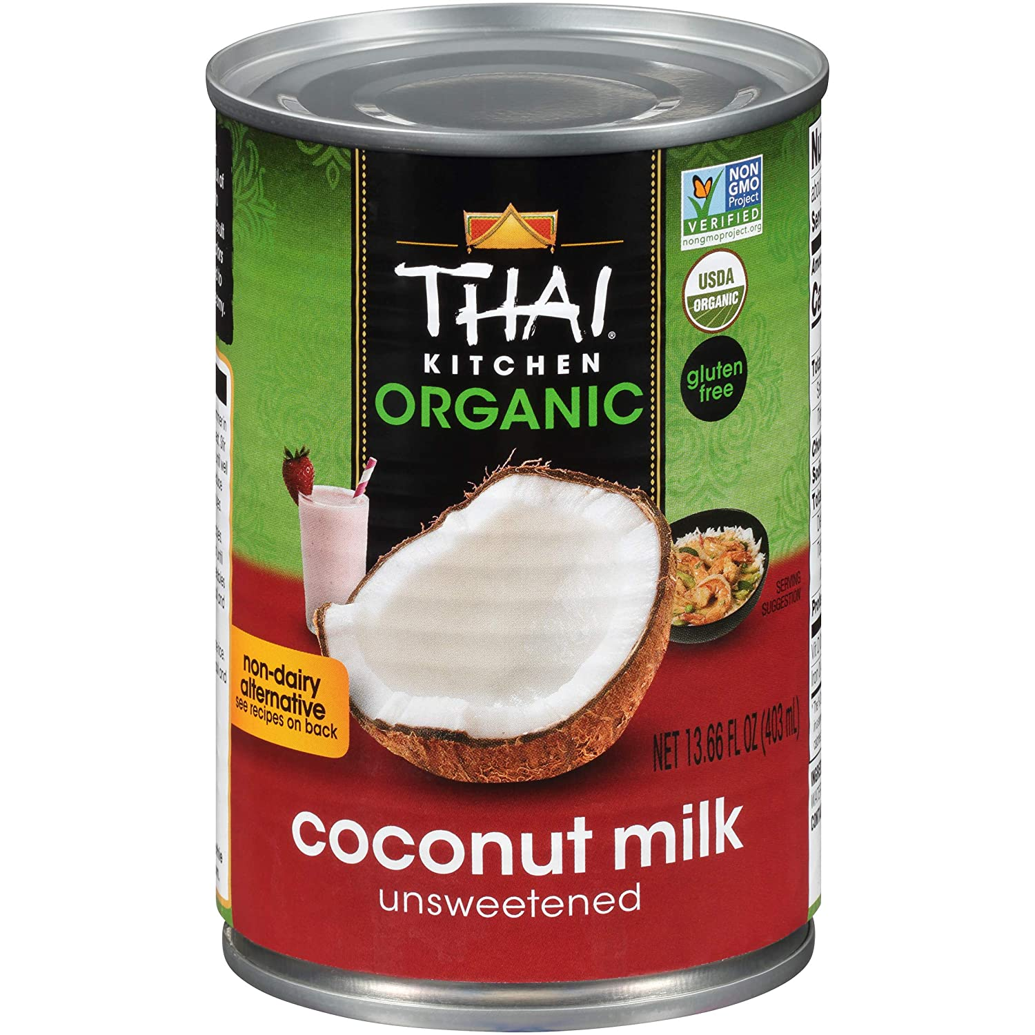 Thai Kitchen Organic Unsweetened Coconut Milk